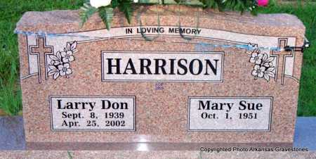 HARRISON, LARRY DON - Scott County, Arkansas | LARRY DON HARRISON - Arkansas Gravestone Photos
