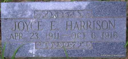 HARRISON, JOYCE E - Scott County, Arkansas | JOYCE E HARRISON - Arkansas Gravestone Photos