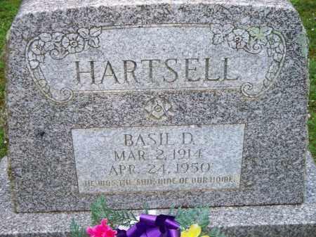 HARTSELL, BASIL D - Scott County, Arkansas | BASIL D HARTSELL - Arkansas Gravestone Photos