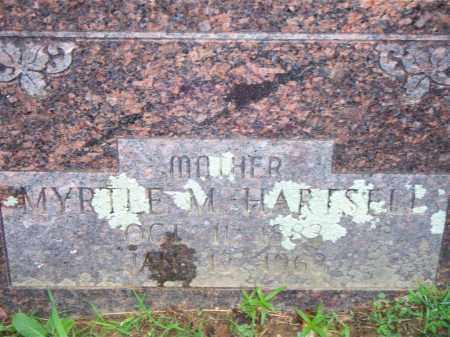 HARTSELL, MYRTLE M - Scott County, Arkansas   MYRTLE M HARTSELL - Arkansas Gravestone Photos