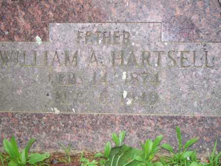HARTSELL, WILLIAM A - Scott County, Arkansas | WILLIAM A HARTSELL - Arkansas Gravestone Photos