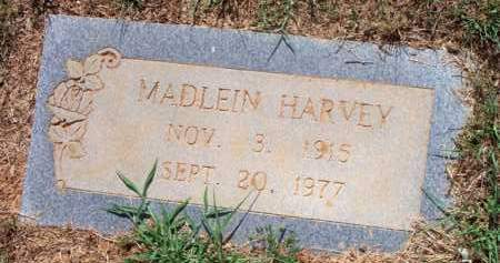 HARVEY, MADLEIN - Scott County, Arkansas | MADLEIN HARVEY - Arkansas Gravestone Photos