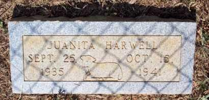 HARWELL, JUANITA - Scott County, Arkansas | JUANITA HARWELL - Arkansas Gravestone Photos