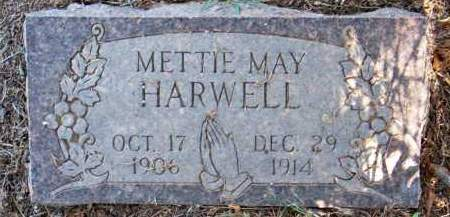 HARWELL, METTIE MAY - Scott County, Arkansas | METTIE MAY HARWELL - Arkansas Gravestone Photos