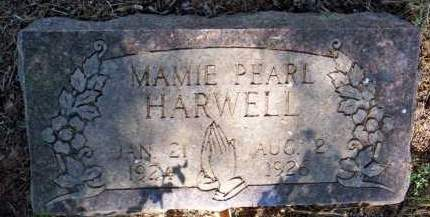 HARWELL, MAMIE PEARL - Scott County, Arkansas | MAMIE PEARL HARWELL - Arkansas Gravestone Photos