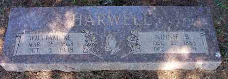 HARWELL, WILLIAM M - Scott County, Arkansas | WILLIAM M HARWELL - Arkansas Gravestone Photos