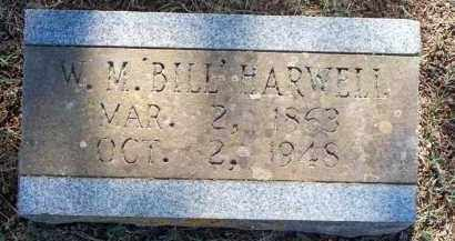 "HARWELL, W M  ""BILL"" - Scott County, Arkansas 