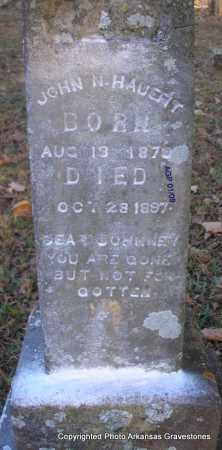 HAUERT, JOHN N - Scott County, Arkansas | JOHN N HAUERT - Arkansas Gravestone Photos