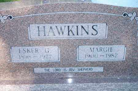 HAWKINS, MARGIE - Scott County, Arkansas | MARGIE HAWKINS - Arkansas Gravestone Photos