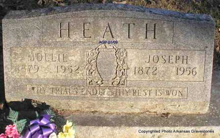 HEATH, MOLLIE - Scott County, Arkansas | MOLLIE HEATH - Arkansas Gravestone Photos