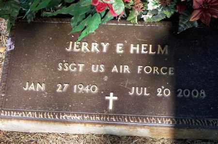 HELM  (VETERAN), JERRY E - Scott County, Arkansas | JERRY E HELM  (VETERAN) - Arkansas Gravestone Photos