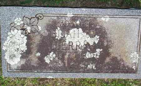 HERRIN, BIJAH D - Scott County, Arkansas | BIJAH D HERRIN - Arkansas Gravestone Photos