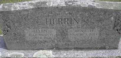 HERRIN, BENJAMIN HARRISON - Scott County, Arkansas | BENJAMIN HARRISON HERRIN - Arkansas Gravestone Photos