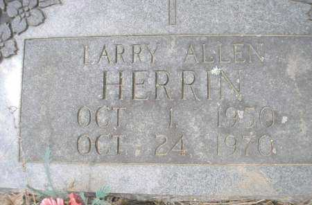 HERRIN, LARRY ALLEN - Scott County, Arkansas | LARRY ALLEN HERRIN - Arkansas Gravestone Photos