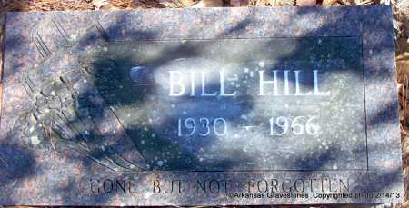 HILL, BILL - Scott County, Arkansas | BILL HILL - Arkansas Gravestone Photos