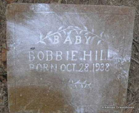 HILL, BOBBIE - Scott County, Arkansas | BOBBIE HILL - Arkansas Gravestone Photos