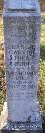 HILL, DR CHARLIE  CALVON - Scott County, Arkansas | DR CHARLIE  CALVON HILL - Arkansas Gravestone Photos