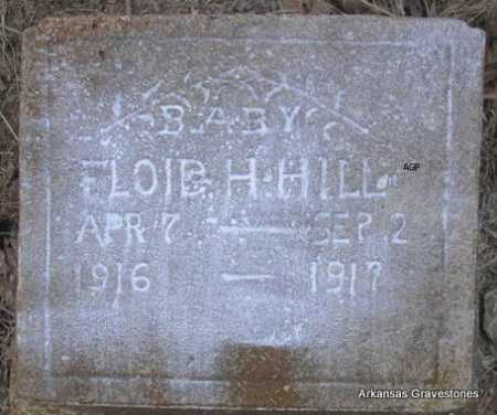 HILL, FLOID H - Scott County, Arkansas | FLOID H HILL - Arkansas Gravestone Photos