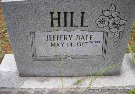 HILL, JEFFERY DALE - Scott County, Arkansas | JEFFERY DALE HILL - Arkansas Gravestone Photos