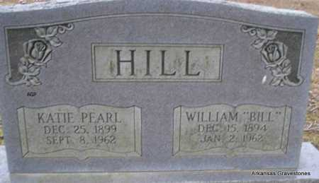HILL, KATIE PEARL - Scott County, Arkansas | KATIE PEARL HILL - Arkansas Gravestone Photos