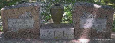 HILL, MAUD - Scott County, Arkansas | MAUD HILL - Arkansas Gravestone Photos