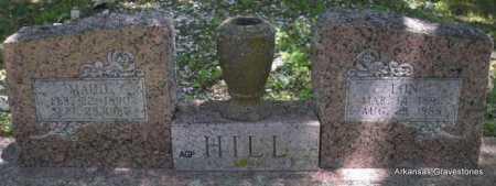 HILL, LON - Scott County, Arkansas | LON HILL - Arkansas Gravestone Photos