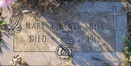 MCNEW HILL, MARY J - Scott County, Arkansas | MARY J MCNEW HILL - Arkansas Gravestone Photos