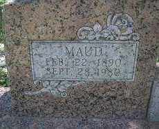 HILL, MAUD  (CLOSEUP) - Scott County, Arkansas | MAUD  (CLOSEUP) HILL - Arkansas Gravestone Photos