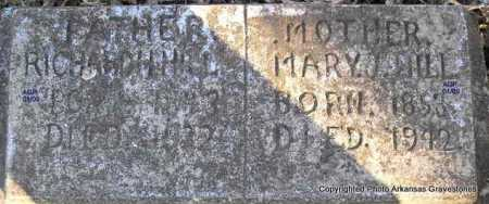 HILL, MARY JANE - Scott County, Arkansas | MARY JANE HILL - Arkansas Gravestone Photos