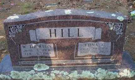 HILL, EDNA C - Scott County, Arkansas | EDNA C HILL - Arkansas Gravestone Photos
