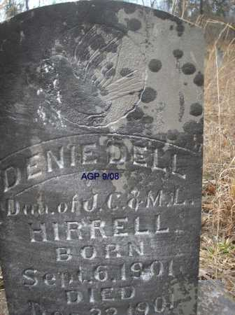 HIRRELL, DENIE DELL - Scott County, Arkansas | DENIE DELL HIRRELL - Arkansas Gravestone Photos