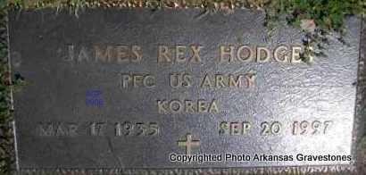 HODGES  (VETERAN KOR), JAMES REX - Scott County, Arkansas | JAMES REX HODGES  (VETERAN KOR) - Arkansas Gravestone Photos