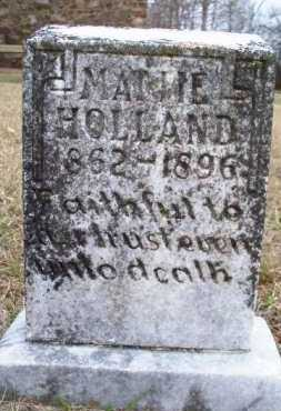 HOLLAND, MATTIE - Scott County, Arkansas | MATTIE HOLLAND - Arkansas Gravestone Photos