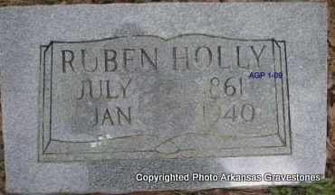 HOLLY, RUBEN - Scott County, Arkansas | RUBEN HOLLY - Arkansas Gravestone Photos
