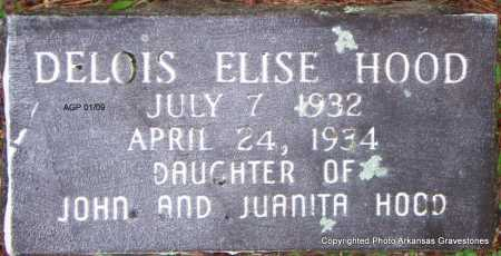 HOOD, DELOISE ELISE - Scott County, Arkansas | DELOISE ELISE HOOD - Arkansas Gravestone Photos