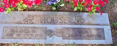 HOUSE, CHARLIE M - Scott County, Arkansas | CHARLIE M HOUSE - Arkansas Gravestone Photos