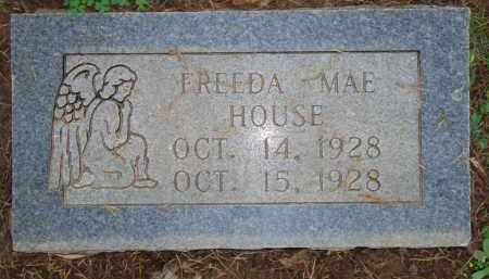HOUSE, FREEDA MAE - Scott County, Arkansas | FREEDA MAE HOUSE - Arkansas Gravestone Photos