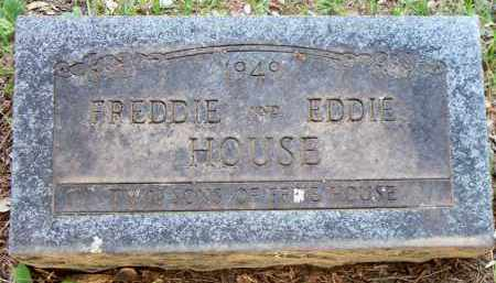 HOUSE, FREDDIE - Scott County, Arkansas | FREDDIE HOUSE - Arkansas Gravestone Photos