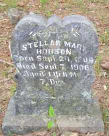 HOUSTON, STELLAR MARY - Scott County, Arkansas | STELLAR MARY HOUSTON - Arkansas Gravestone Photos