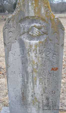 HOWZE, M J - Scott County, Arkansas | M J HOWZE - Arkansas Gravestone Photos
