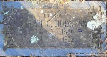 HUDGENS, SARAH C - Scott County, Arkansas | SARAH C HUDGENS - Arkansas Gravestone Photos