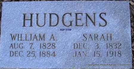 NELSON HUDGENS, SARAH - Scott County, Arkansas | SARAH NELSON HUDGENS - Arkansas Gravestone Photos