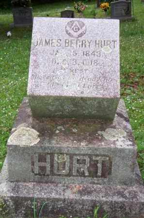 HURT, JAMES BERRY - Scott County, Arkansas | JAMES BERRY HURT - Arkansas Gravestone Photos