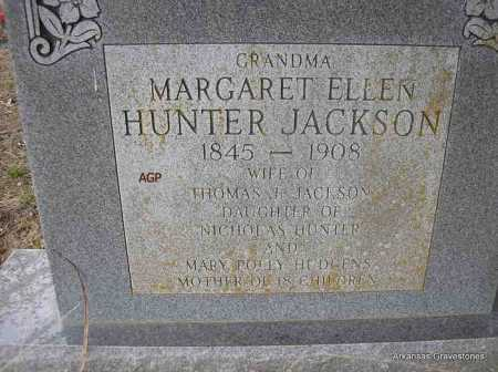 JACKSON, MARGARET ELLEN - Scott County, Arkansas | MARGARET ELLEN JACKSON - Arkansas Gravestone Photos
