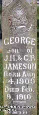 JAMESON, GEORGE - Scott County, Arkansas | GEORGE JAMESON - Arkansas Gravestone Photos