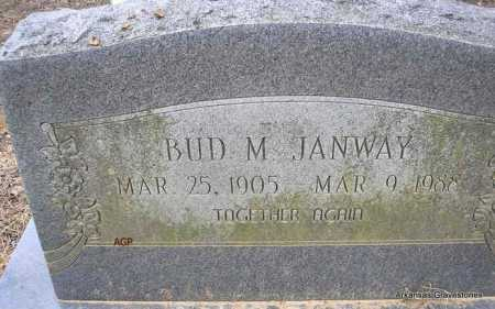 JANWAY, BUD M - Scott County, Arkansas | BUD M JANWAY - Arkansas Gravestone Photos