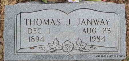 JANWAY, THOMAS J - Scott County, Arkansas | THOMAS J JANWAY - Arkansas Gravestone Photos
