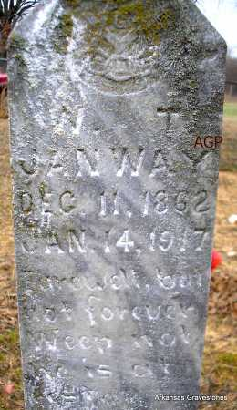 JANWAY, W T - Scott County, Arkansas | W T JANWAY - Arkansas Gravestone Photos