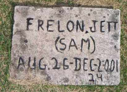JETT, FRELON  (SAM) - Scott County, Arkansas | FRELON  (SAM) JETT - Arkansas Gravestone Photos