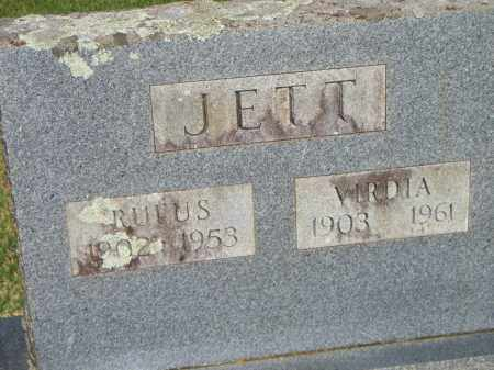JETT, VIRDIA - Scott County, Arkansas | VIRDIA JETT - Arkansas Gravestone Photos